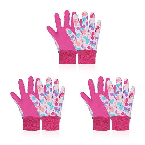 3 pares de guantes de...