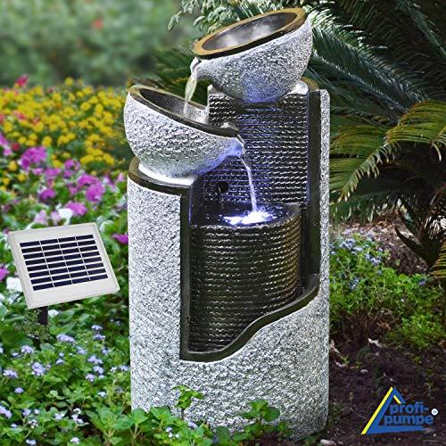 Fuente solar de jardín...