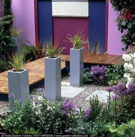 Características de los Jardines modernos