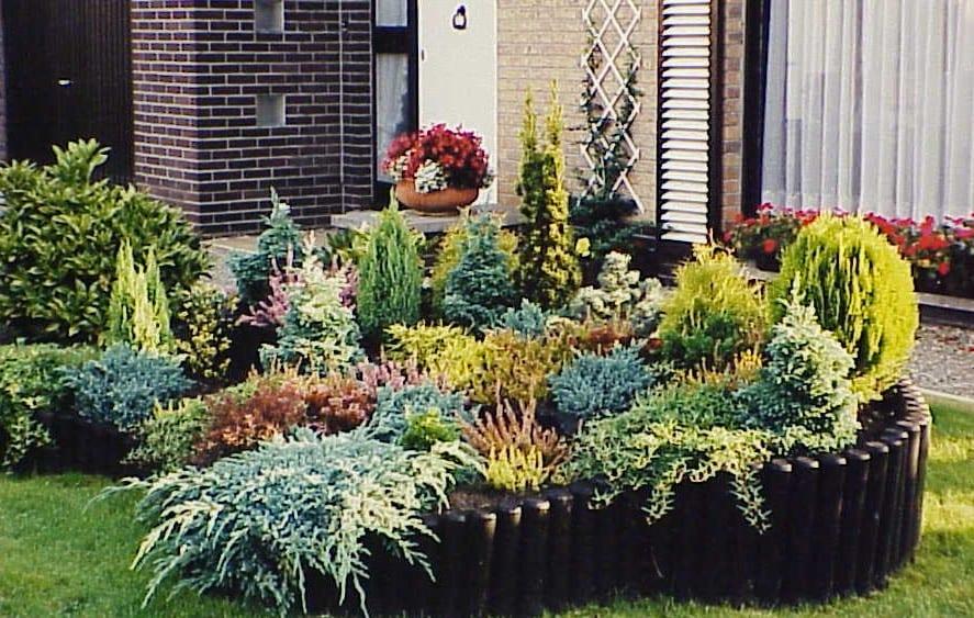 Una sencilla rocalla for Plantas para rocallas