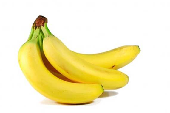 plátano, rico en potasio