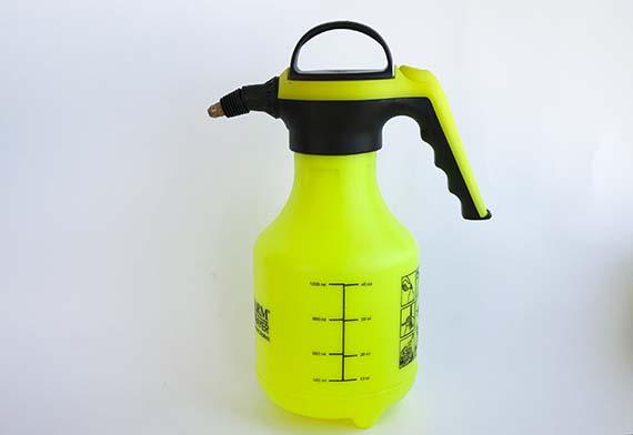 Pulverizador de agua a presión previa