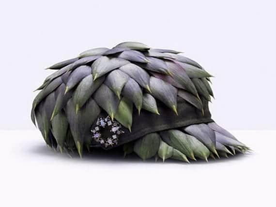 gorra de alcachofas