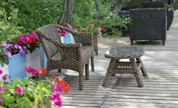 Plantas en terraza