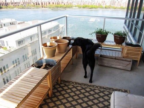 Decoración balcón