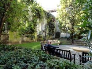 Jardín clima húmedo