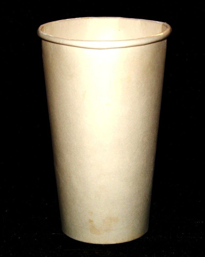 Taza de café de cartón