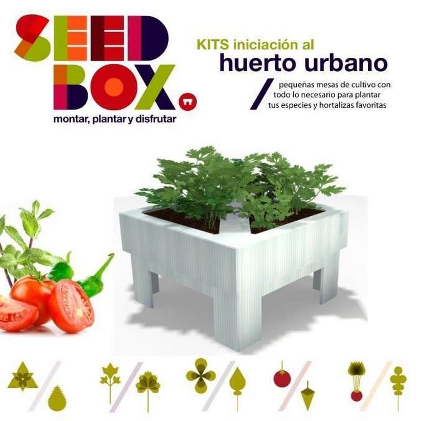 Mesa de cultivo SeedBox