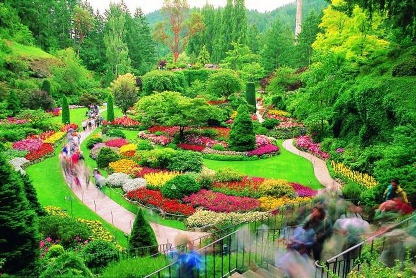 Los jardines m s bonitos del mundo for Jardines grandes
