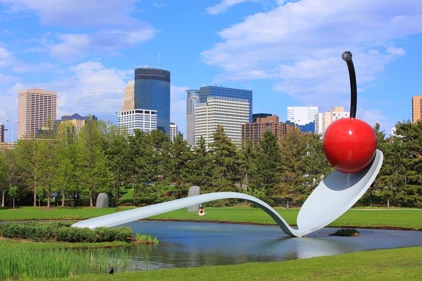 Jardín de esculturas de Minnesota