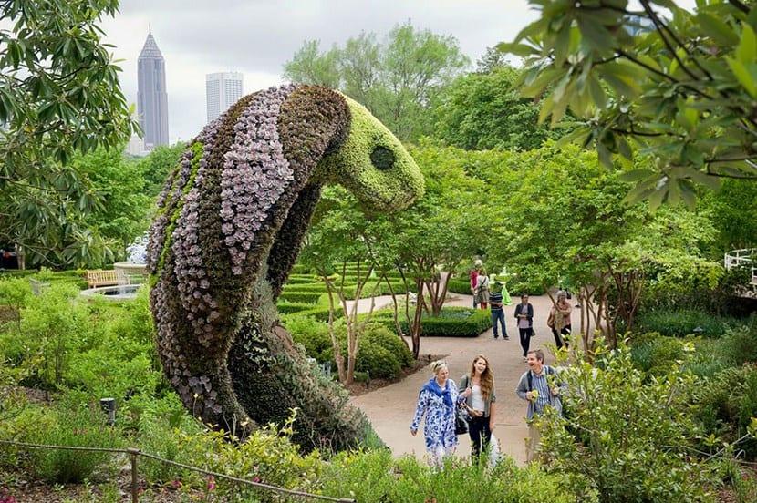 Esculturas Atlanta Botanical Garden