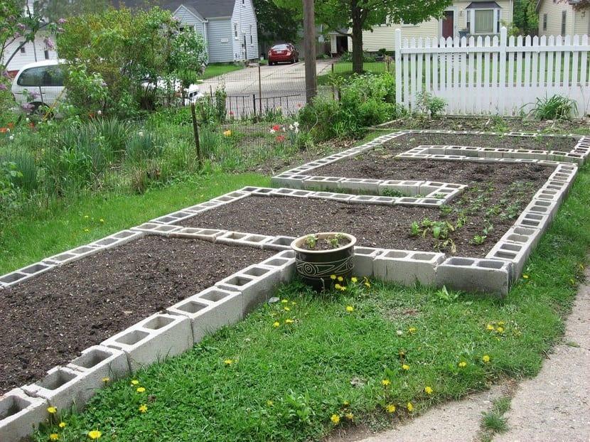 Jardinería lasaña