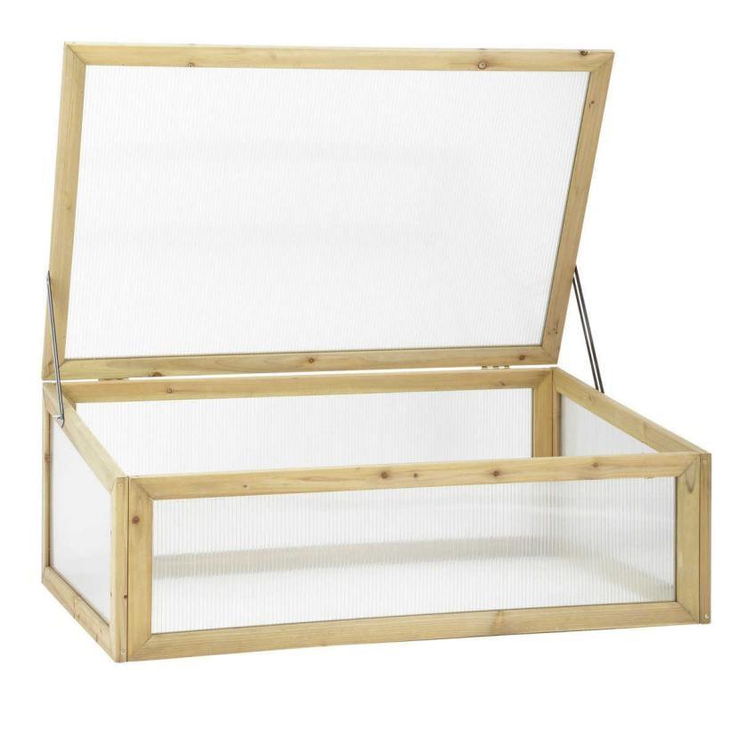Invernadero de madera