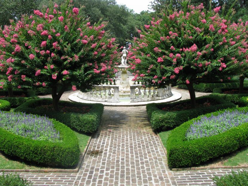 Jardín de Elizabethan