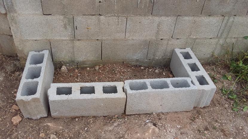 gaviones decorativos para el jard n y jardiner a Construir una jardinera con bloques en el jard n Ladrillos decorativos para  jardin
