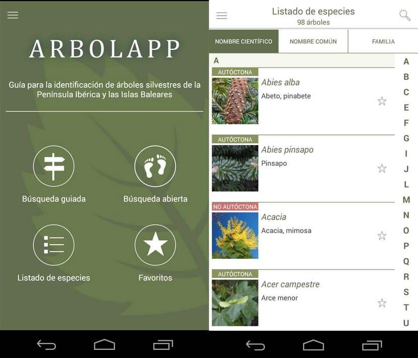 App plantas