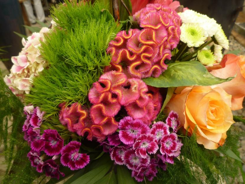 Arreglo floral colorido