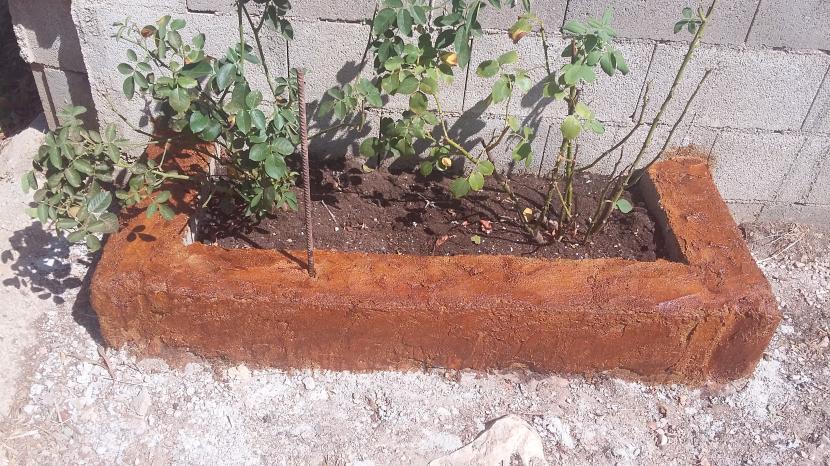 Cmo pintar jardinera de bloques