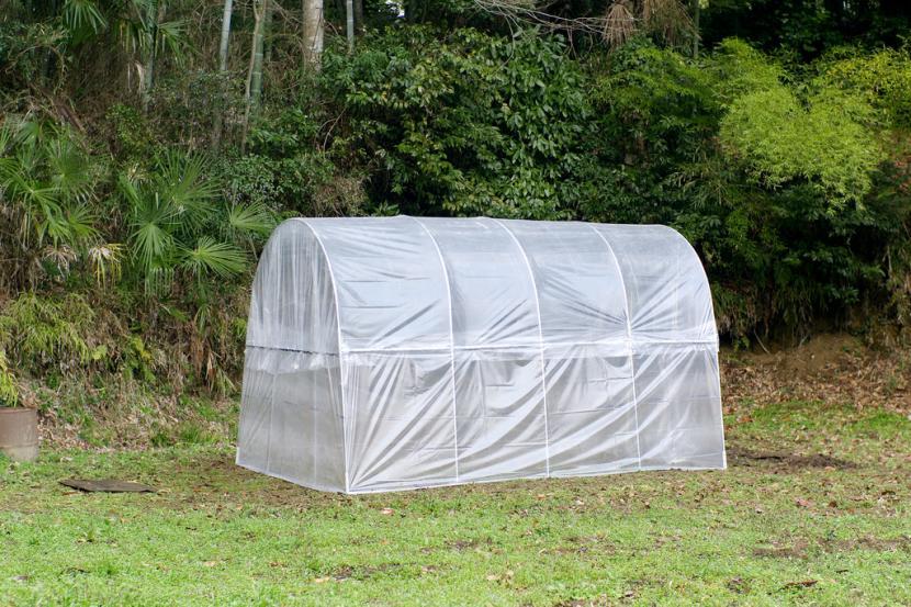 Invernadero de plástico