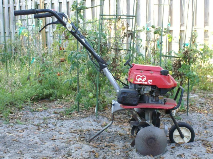 Motocultor para jardín