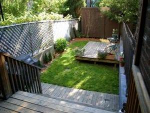Diseño de un jardín pequeño