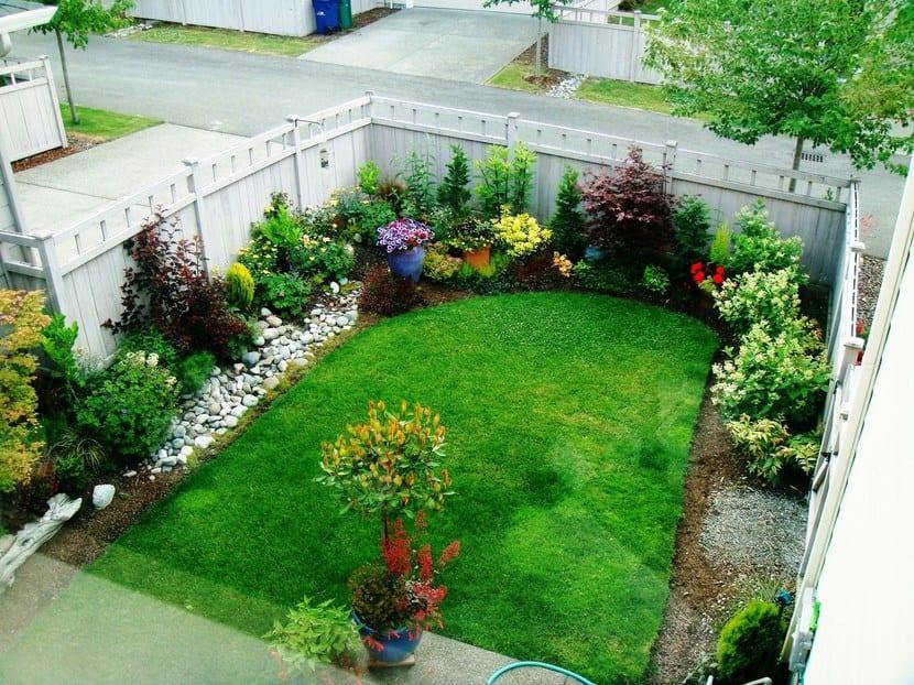 C mo hacer que un jard n peque o se vea m s grande for Como arreglar un jardin pequeno