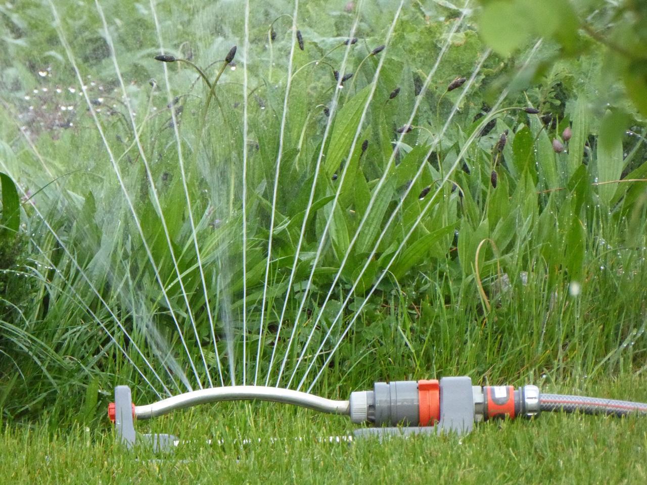 Elige el sistema de riego en función de si llueve poco o mucho en tu zona