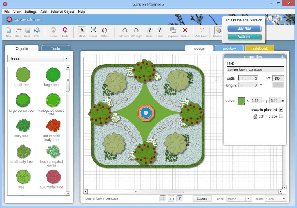 Programas para dise os de jardines for Programa diseno 3d