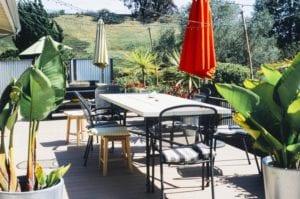 Terraza de jardín