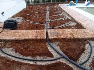 Sistema de drenaje de suelo