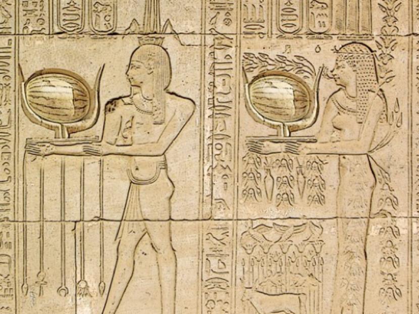 Sandías egipcias