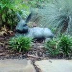 Escultura de conejo