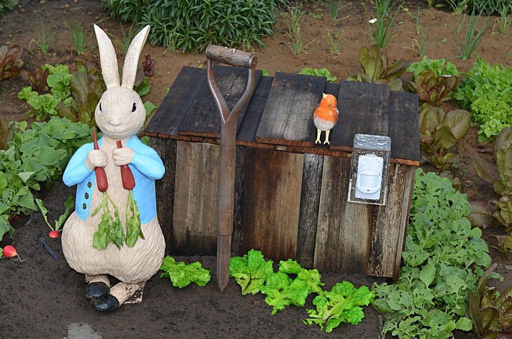 Figura de conejo