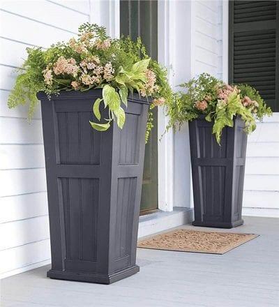 C mo utilizar los pedestales para plantas para decorar - Pedestal para plantas ...