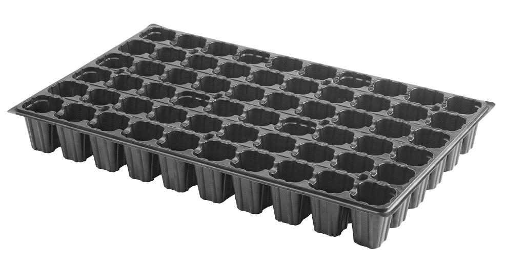Bandeja de semillero de plástico