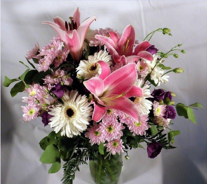 Ramos de flores y diferentes tipos de ramos que puedes - Ramos de flores grandes ...