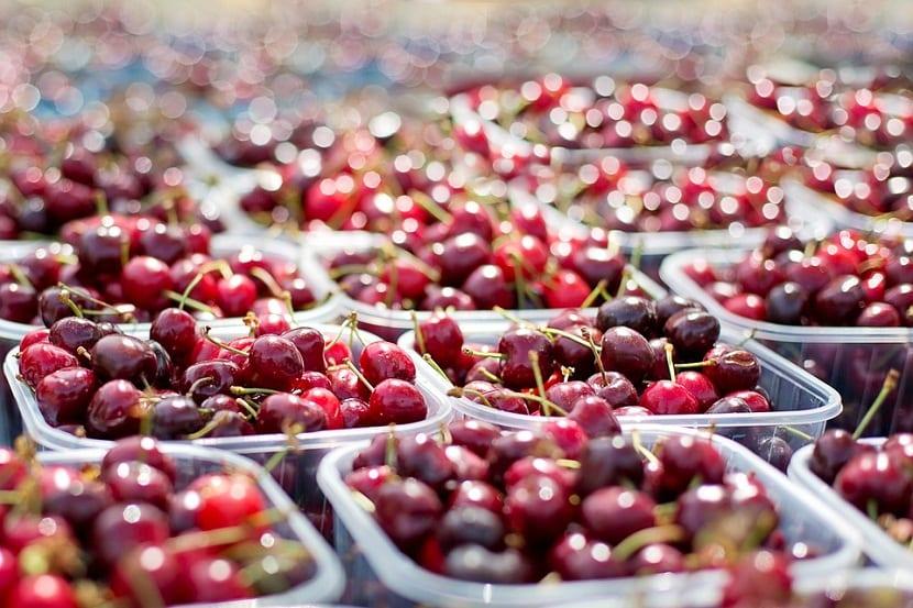 las cerezas alcanzan precios elevados en el mercado