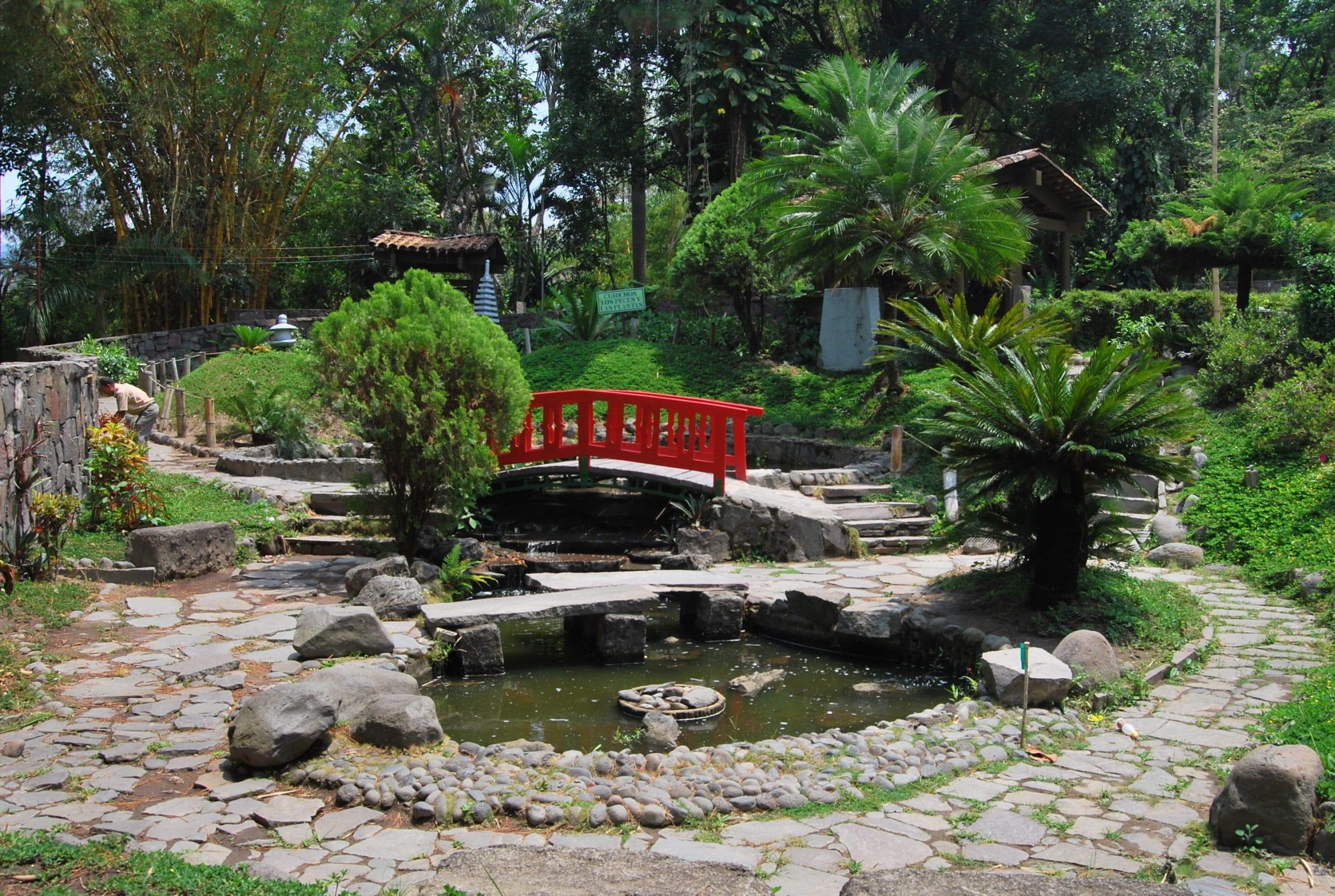 cmo es el jardn japons - Jardines Japoneses