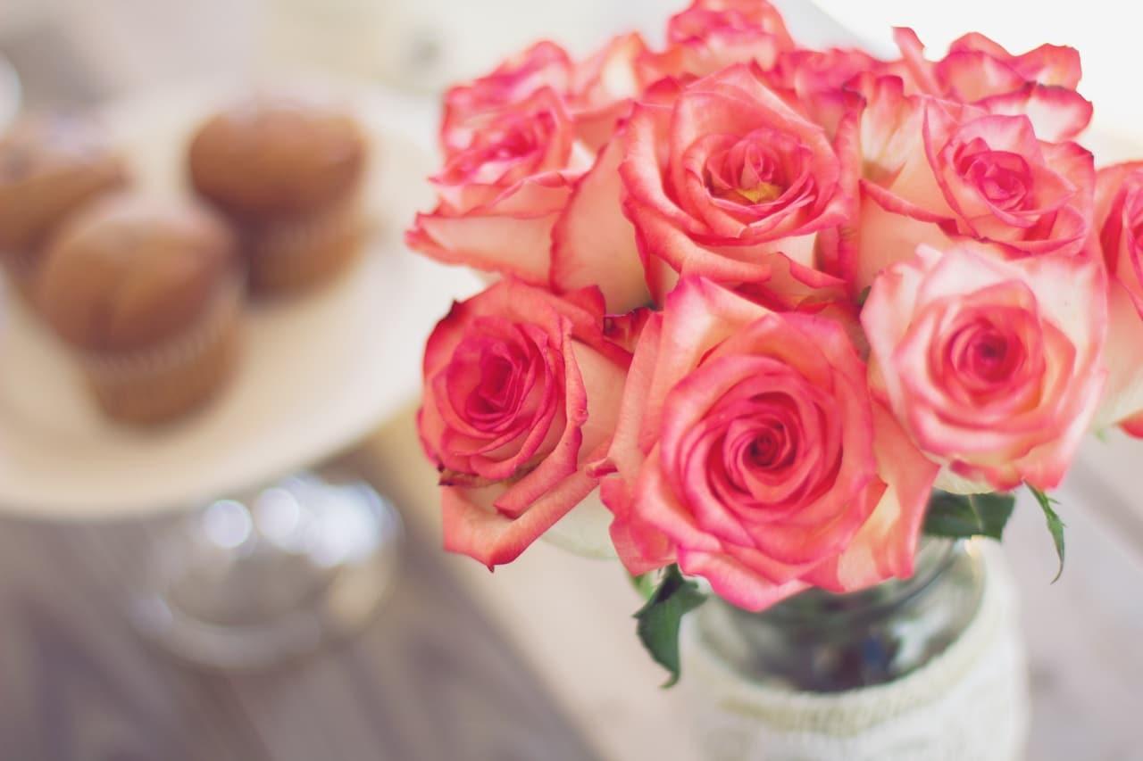 Las rosas son flores que se conservan por varios días