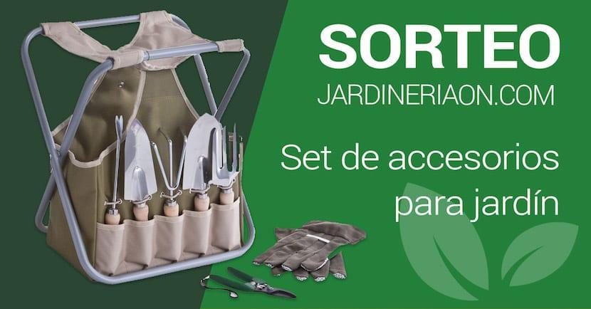 Sorteamos un set de accesorios para jard n for Accesorios para jardin