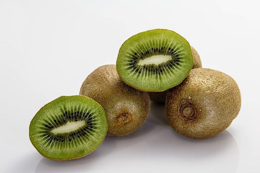 deliciosa fruta del kiwi