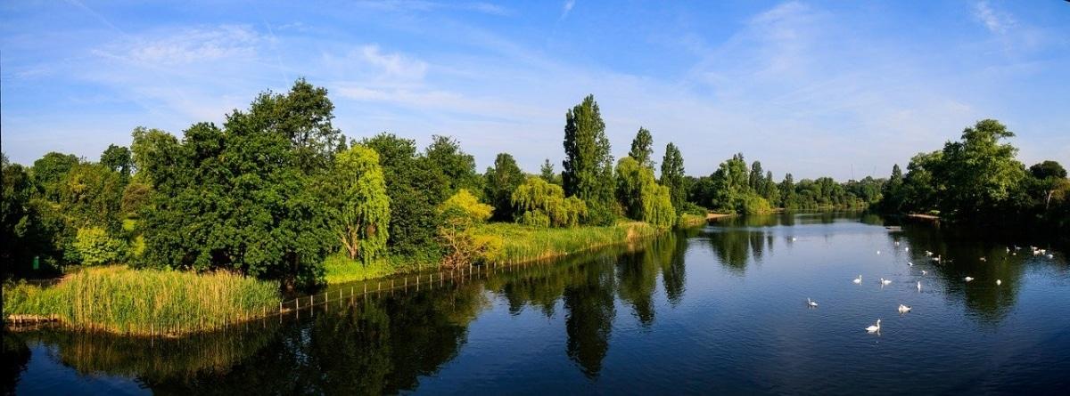 En Londres hay un jardín histórico, el Hyde Park