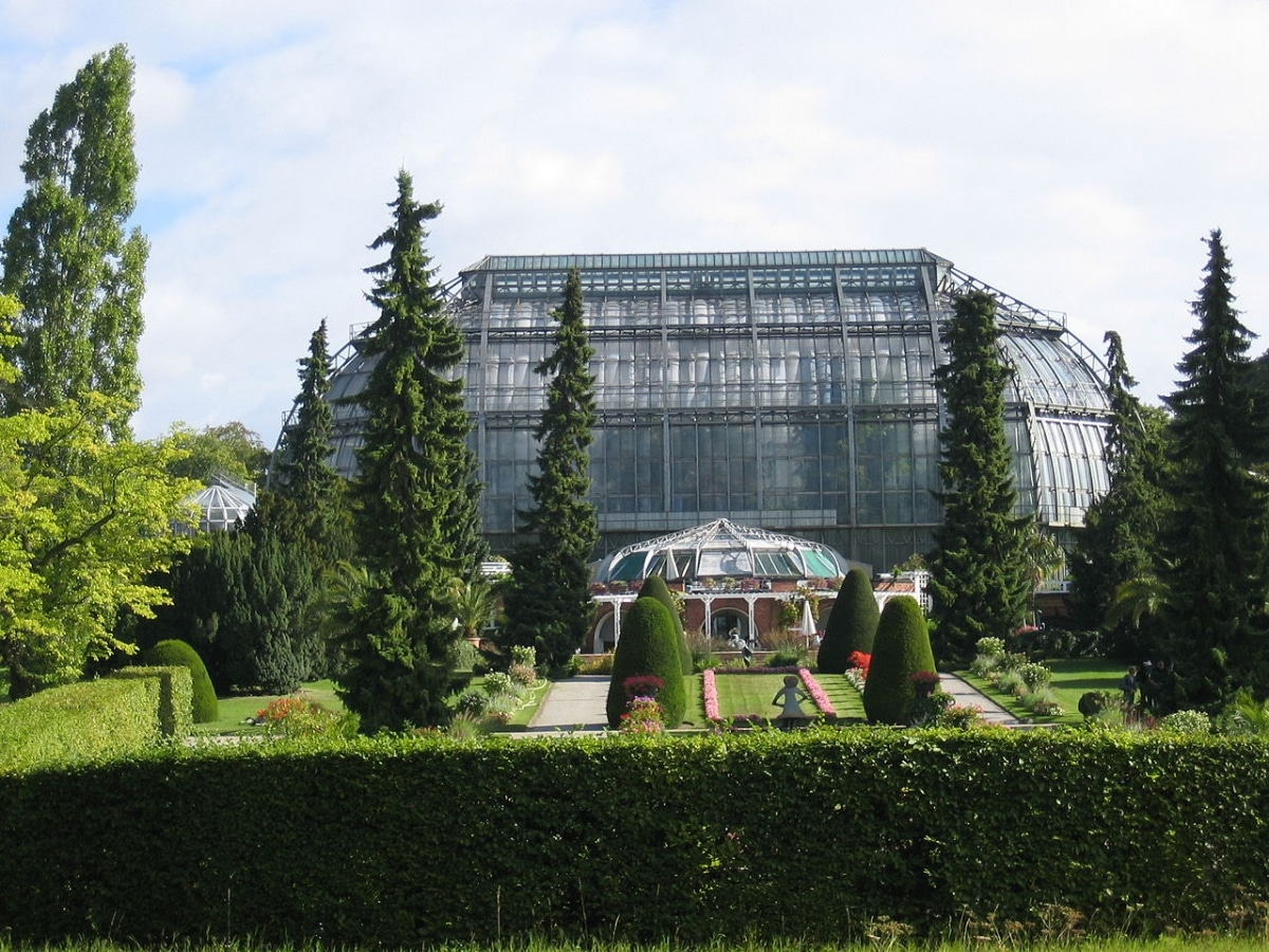 El Jardín Botánico de Berlin es de reciente creación