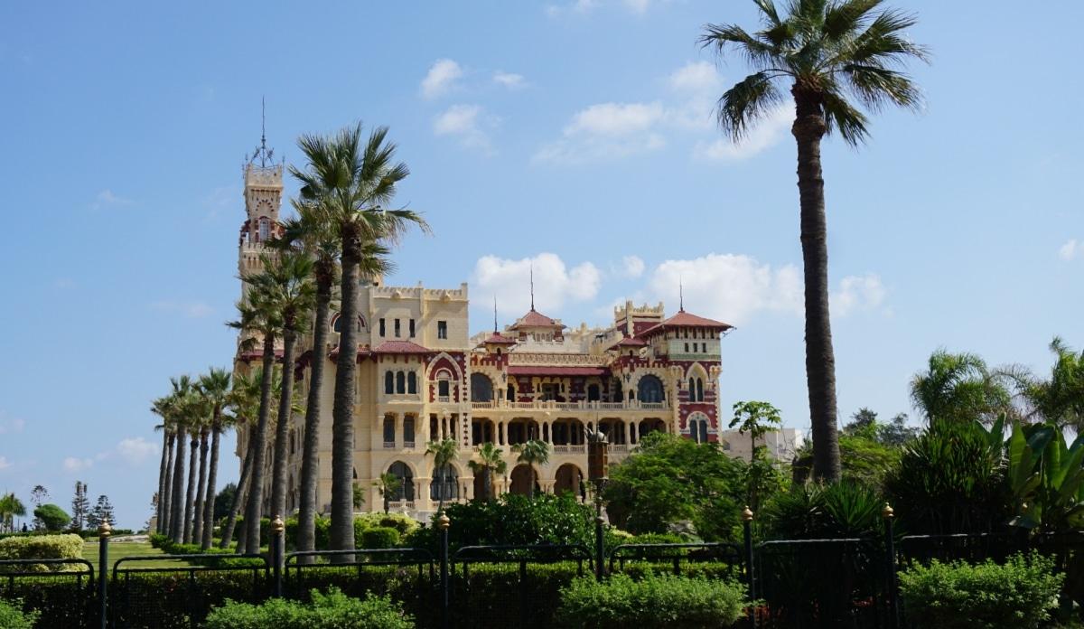 El jardín de Alexandría es muy antiguo