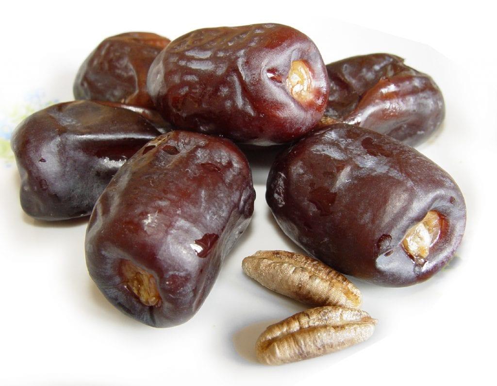 Frutos de la Palmera datilera