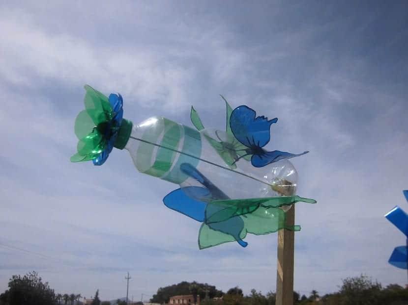 molinillo de viento casero