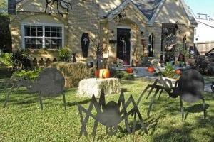 decorar nuestro jardin de forma terrorifica