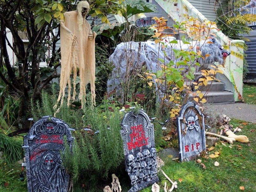 Convierte tu jardin en un cementerio