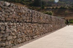 Muro de gaviones