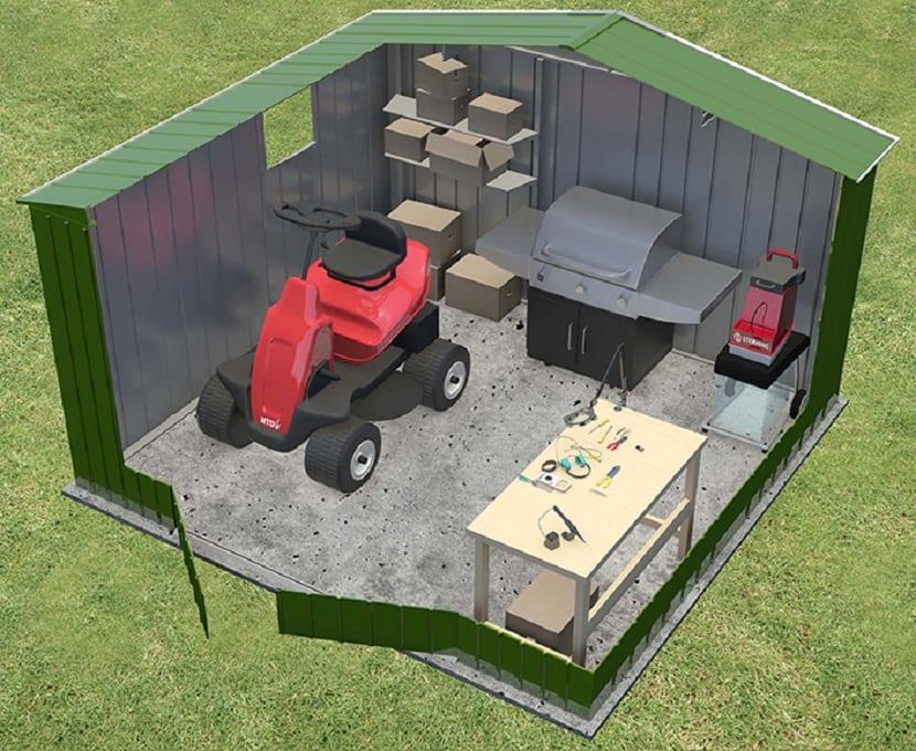 construir una caseta de aperos